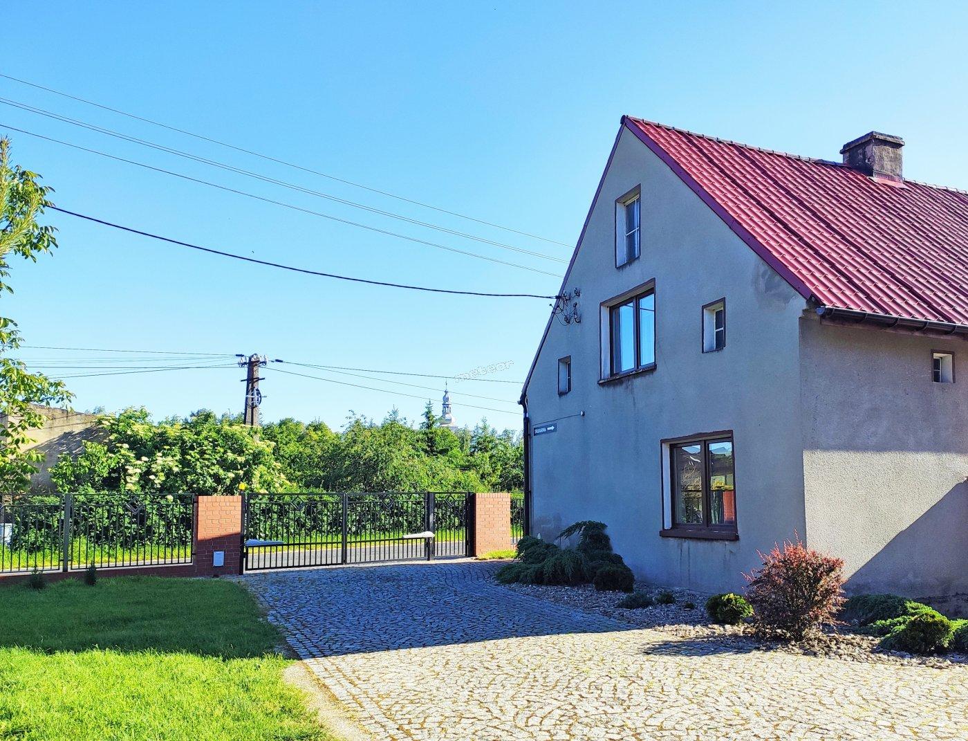 Dom- widok od strony podwórka