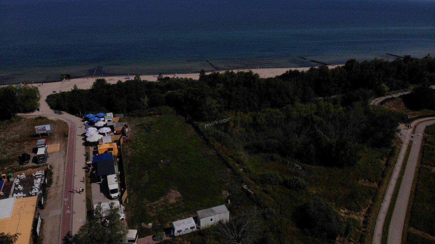 Camping przy samej plaży