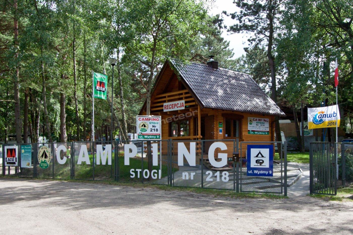 Camping STOGI nr 218 w Gdańsku