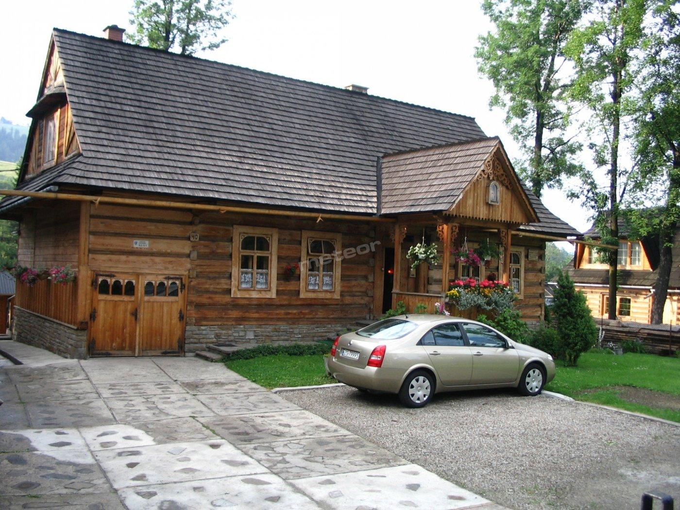 Zabytkowy domek, Zakopane, Kościeliska