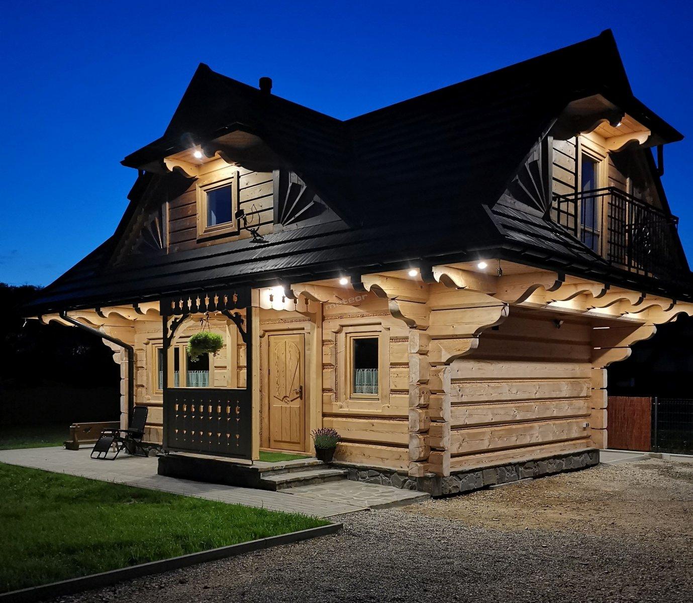 Domek Całoroczny z bali Smrekowo Chata