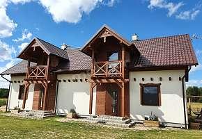 Milochówka - Dom Drewniany Bliźniak