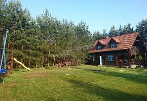 Drewniany Domek na Mazurach