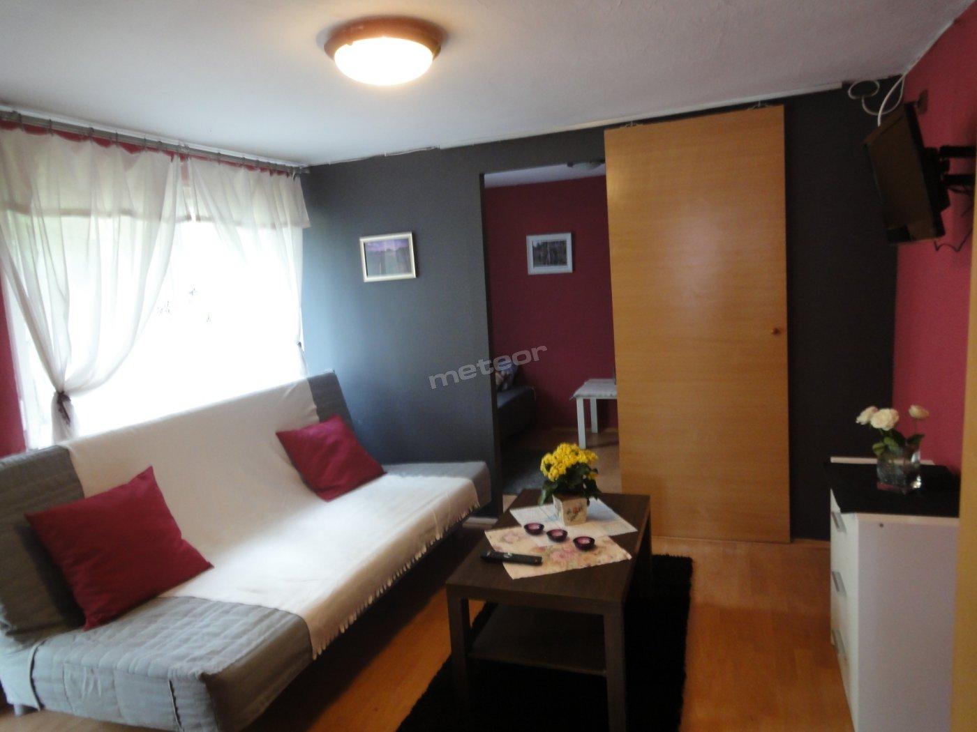 Apartament Wrzosowy - pokój dzienny