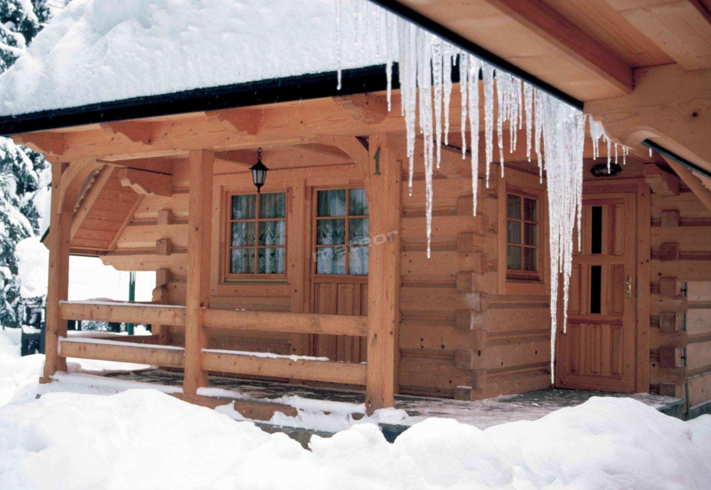 chata góralska zima