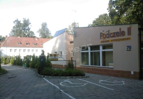 Budynek recepcji i stołówki