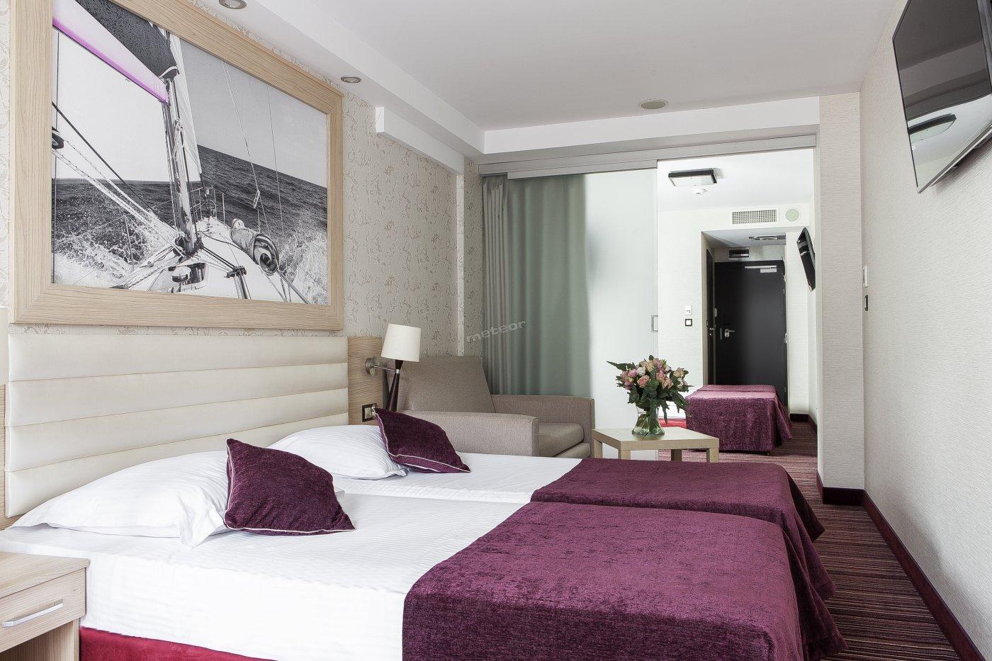 Komfortowy pokój w Primavera Jastrzębia Góra