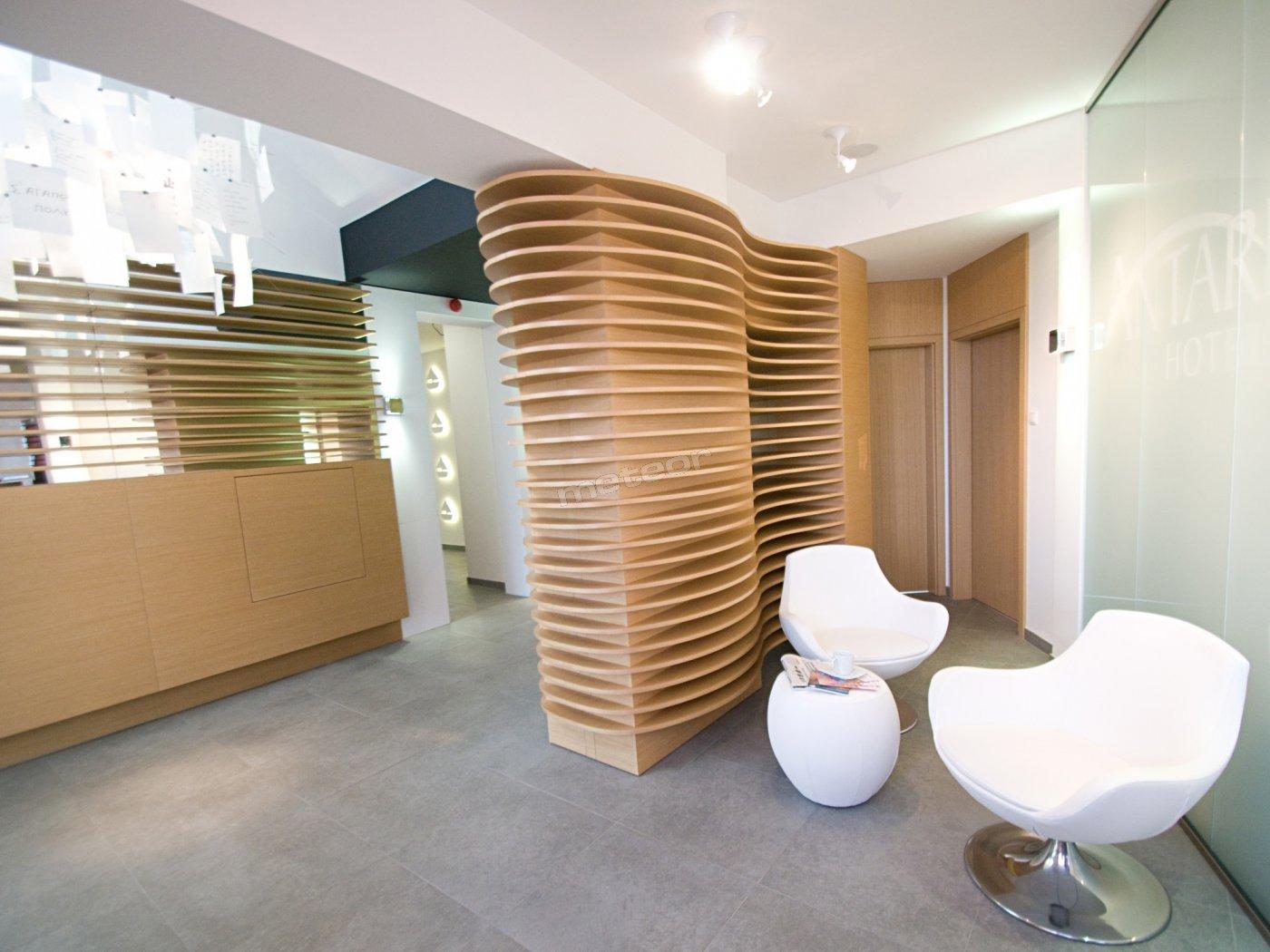 Recepcja Hotel Antares w Gdyni