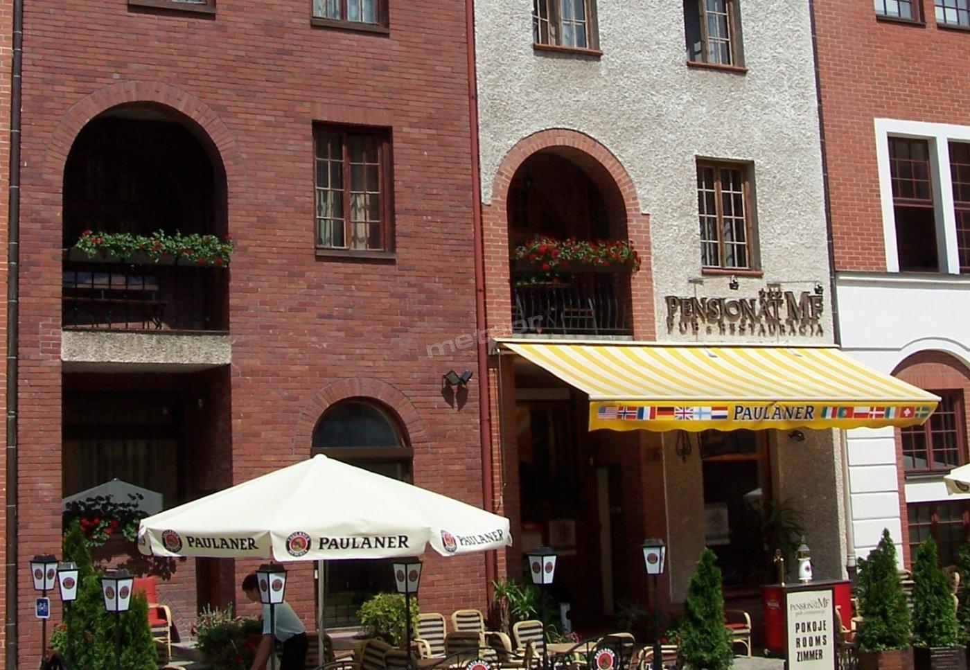 Pensjonat M.F.*** - Hotel-Restauracja-Pub UL. Św. Ducha 26