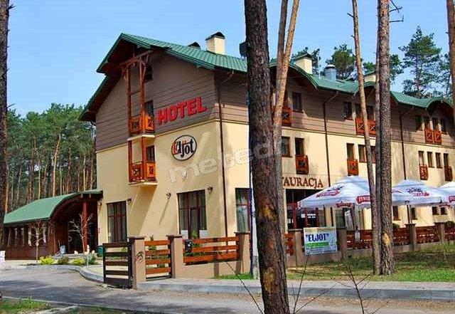 Hotel widok z zewnątrz.
