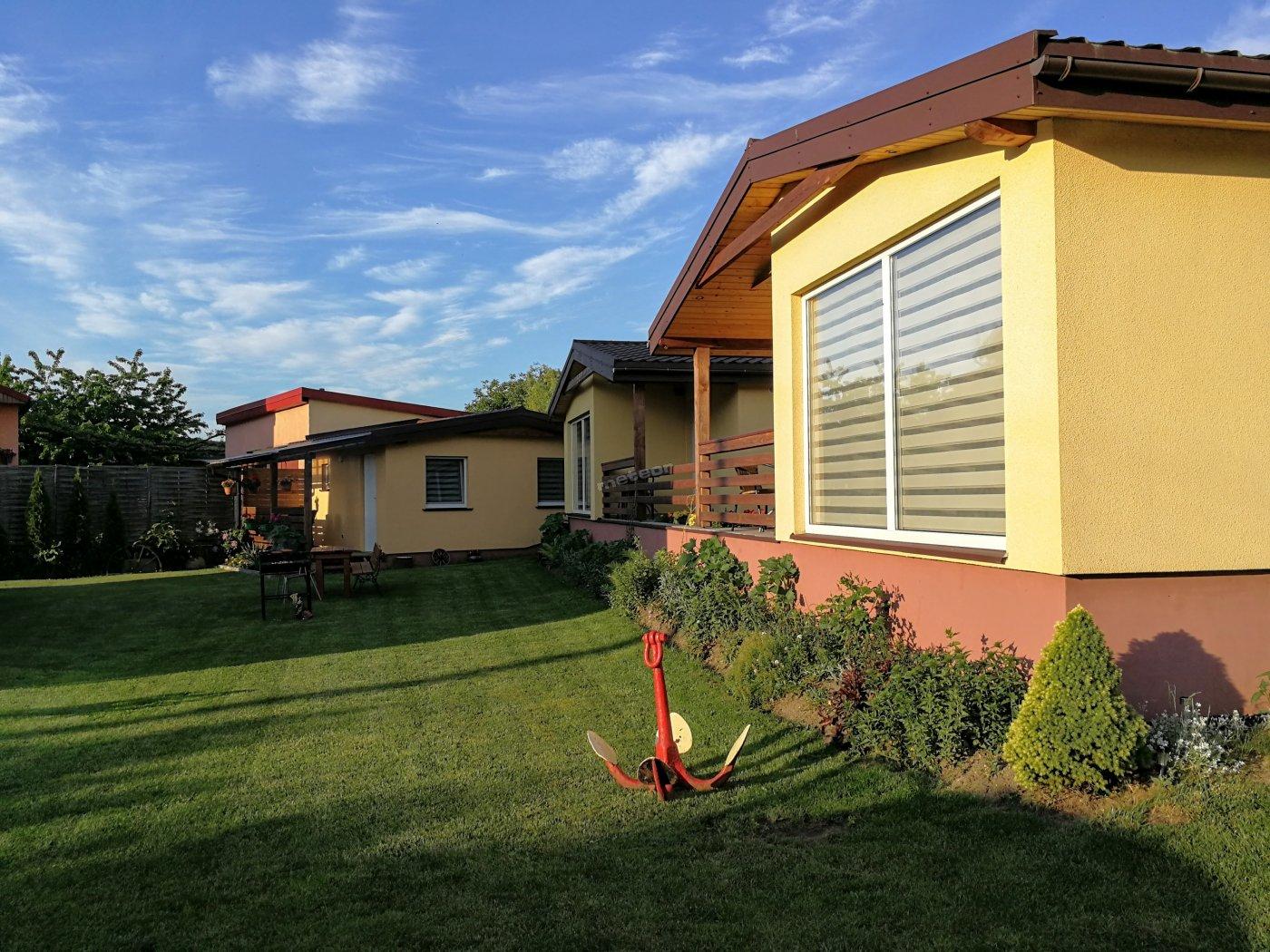 Komfortowe domki 6 i 4 osobowe o podwyższonym standardzie