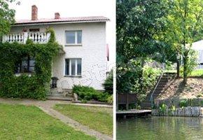 Wakacje nad jeziorem-Bory Tucholskie